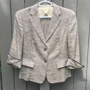 MaxMara Tweed Blazer Size 8